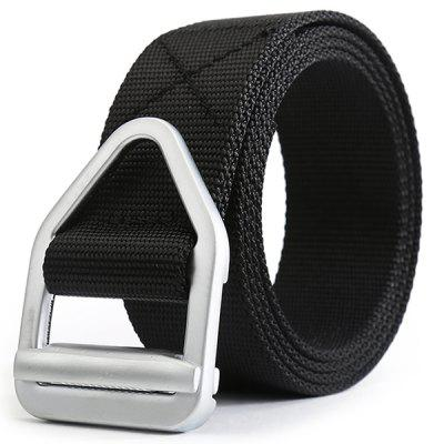Korean Style Simple Style Quick Dry Weaving Belt Breathable Durable with Metal Buckle