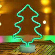 Christmas Tree Model Neon Decorative Lamp