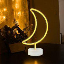 Moon Model Neon Decorative Lamp