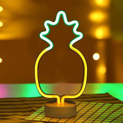 Pineapple  Model Neon Decorative Lamp