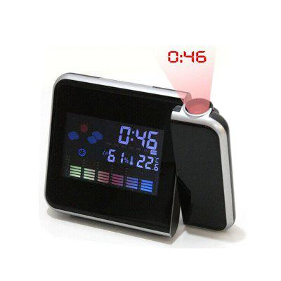 Color Screen Projection Alarm Clock