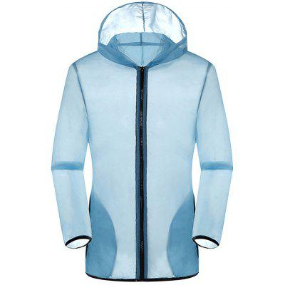 New Summer Ultra-Thin Breathable Long Sleeve Sun Protection Clothing