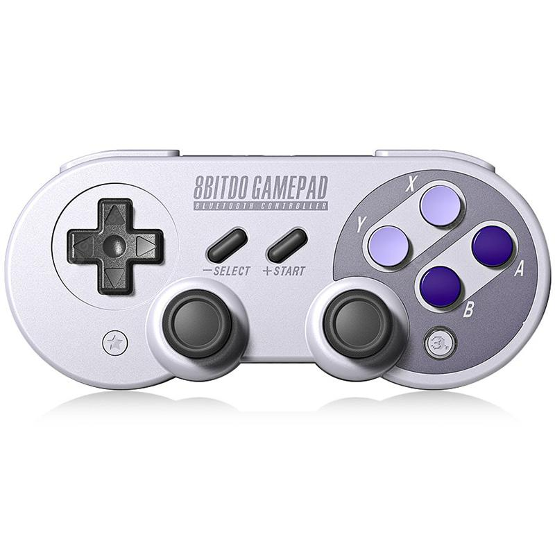 8Bitdo SN30 Pro Wireless Bluetooth Controller with Joystick - GRAY