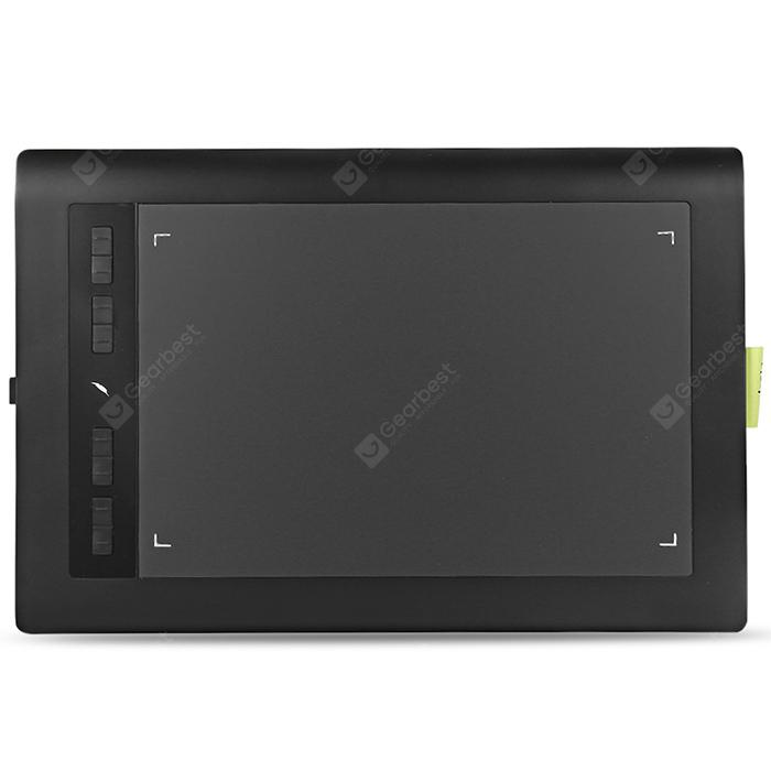 Acepen AP1060 Graphic Drawing Tablet with Passive Pen
