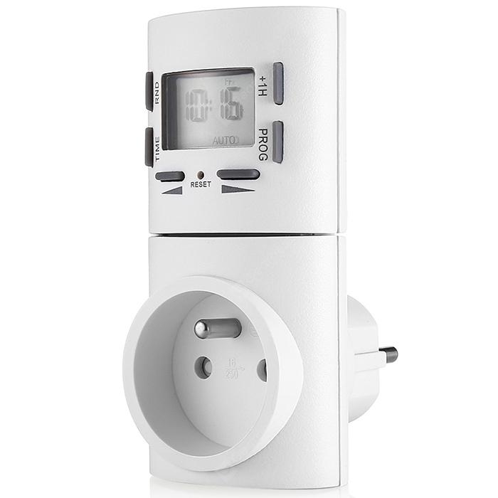 7-day Digital Programmable Smart Socket Plug-in Timer Switch