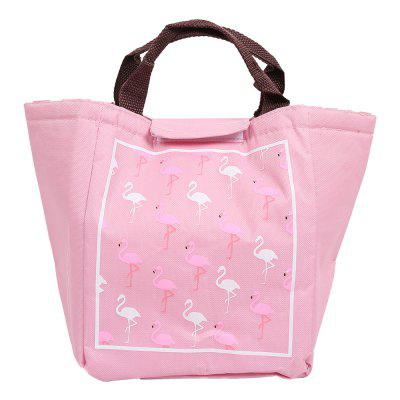 Portable Insulated Bag Lunch Box with Oxford Cloth