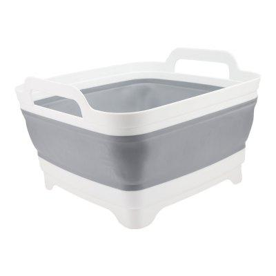 FUJINIRRIGATION Portable Collapsible Lightweight Camping Washbasin Bucket
