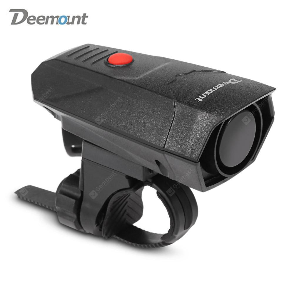 Deemount Digital Cycling Horns Bicycle Handlebar Ring Bell Alarm for Safety