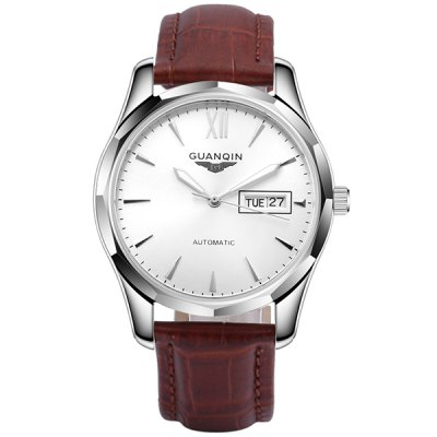 GUANQIN GJ16034 Men Auto Mechanical Watch