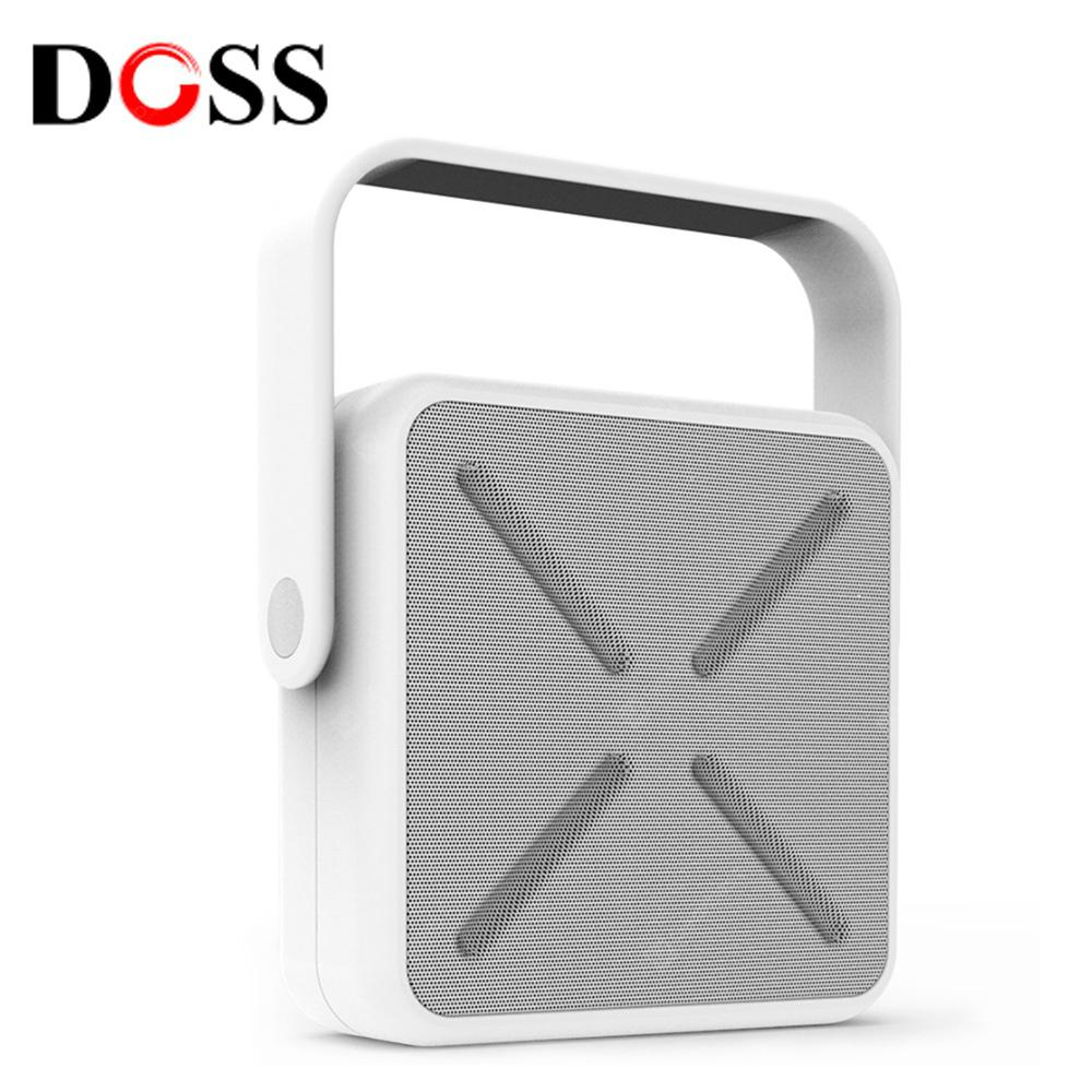 DOSS DS - 2022 Outdoor Portable Wireless Bluetooth Stereo Speaker Mini Player - WHITE