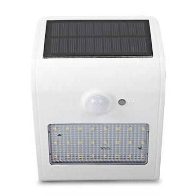 24 LEDs Solar Motion Sensor Wall Light IP65 Waterproof for Outdoors Garden Patio