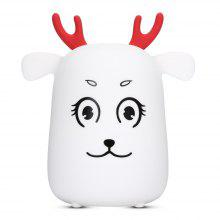 G1 LED Rechargeable Silicone Deer Night Light Tap Control for Bedroom Living Room