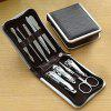 Stainless Steel Nail Clipper Kit - SILVER