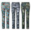 TOREAD Quick-dry Mid Waist Camouflage Print Straight-leg Women Long Pants - WOODLAND CAMOUFLAGE