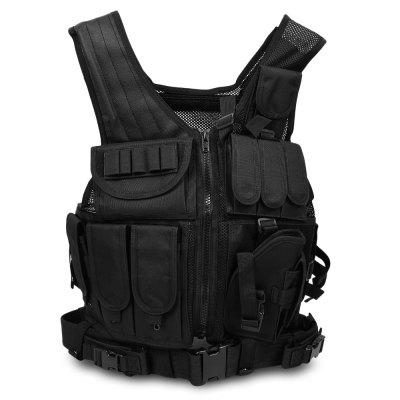 Chengma CMICM - M Multi-function Tactical Combat Outdoor Training Vest mil spec military lt6094 coyote brown cb combat molle tactical vest army military combat vests lbt6094 style gear vest carrier