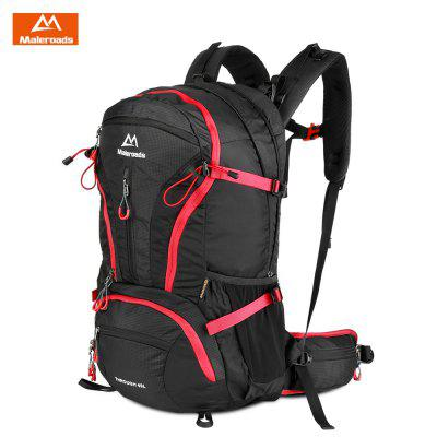 Maleroads 40L Outdoor Sports Hiking Backpack Water-resistant Nylon Travel Bag