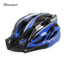 Deemount Cycling Helmet All-round Protection EPS Back Taillight Riding Device