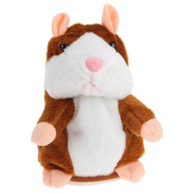 Talking Plush Cartoon Hamster Niños Juguetes