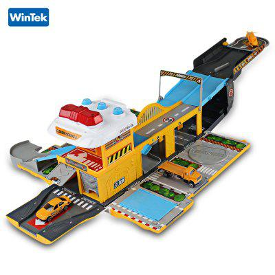 WinTek 5018 Assembled Track Engineering Vehicles Construction Set Toy