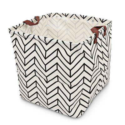 Print Foldable Clothing Toys Storage Basket Laundry Hamper