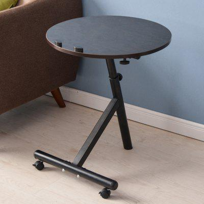 Фото Movable Lift Desk Round Adjustable Tea Table