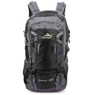 HUWAIJIANFENG 60L Lightweight Outdoor Activities Bag Travel Hiking Backpack