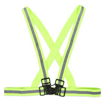Elastic Night Sports Vests Traffic Safety Reflective Straps