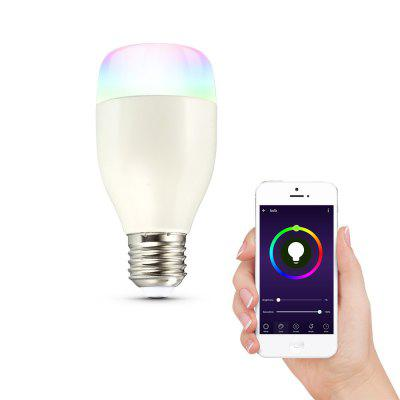 LWE1 E27 Smart WiFi RGBW LED Light Bulb Dimmable for Party Lighting