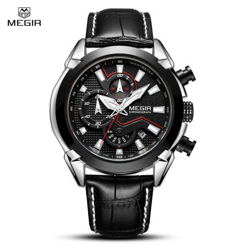 MEGIR MN2065 Men Calendar Chronograph Quartz Watch