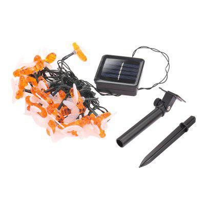 Accionado por energía solar Bee LED String Light Outdoor Decoration