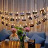 Clip Creative LED Photo Wall String Colorful Flash Light Bedroom Decoration - MULTI