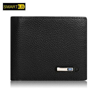 SMARTLB Wallet Finder Smart Men Leather Card Holder
