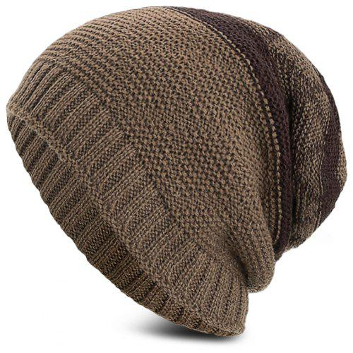 74e38f13105 Knitted Wool Hat Winter Plus Thick Fluff Line Cap Headgear for Men Women -   5.52 Free Shipping