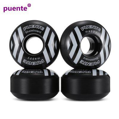 PUENTE PU Skateboard Wheels 52mm