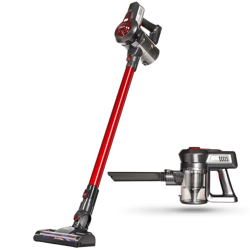 Dibea C17 2-in-1 Wireless Vacuum Cleaner - RED