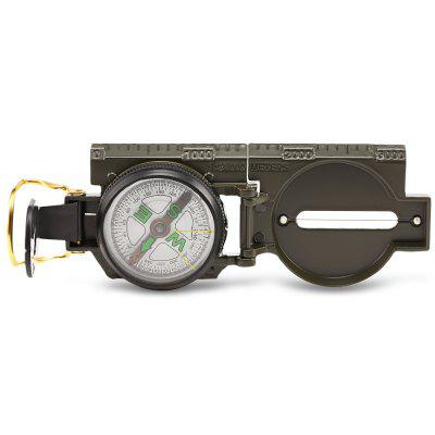 DC45 - 2B Multifunctional American Style Folding Marching Lens Compass