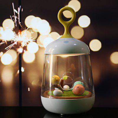 Micro Landscape Music Box LED Night Light