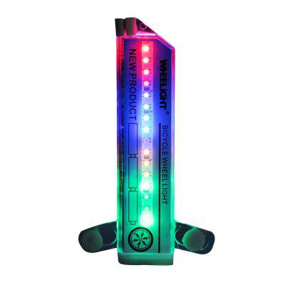 Wheelight 32 LED Patterns Bicycle Wheel Lights Double-sided Colorful Tire Lamp
