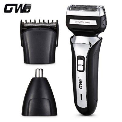 GW - 1008 3-in-1 Rechargeable Men Shaver Nose Trimmer Hair Clipper
