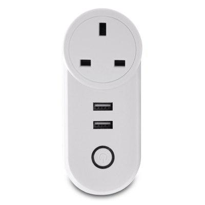 Smart Plug Wireless Remote Control Socket Work for Amazon Alexa / Google Home