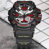 READ R90001 Male Watch Dual Movement Luminous Resin Strap Sports Wristwatch - MULTI-B