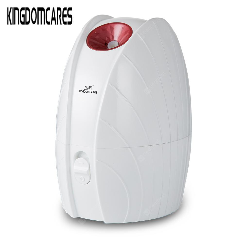 KINGDOMCARES KD2335 Hot Ionic Facial Steamer Home SPA Face Skin Care Humidifier - RED CHINESE PLUG (2-PIN)