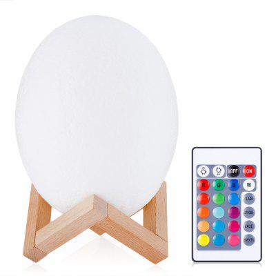 3D Printing Dinosaur Egg Light Night Lamp with Remote Control