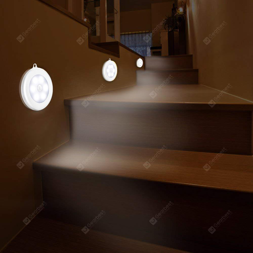 6 LED's Motion Sensor Induction Night Light - WIT