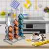Coffee Capsule Stand Storage Rack Holder - SILVER