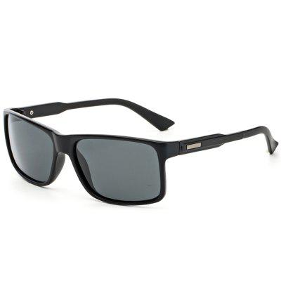 TOMYE P522 PC Square Frame Anti UV Cool Polarized Sunglasses for Men and Women