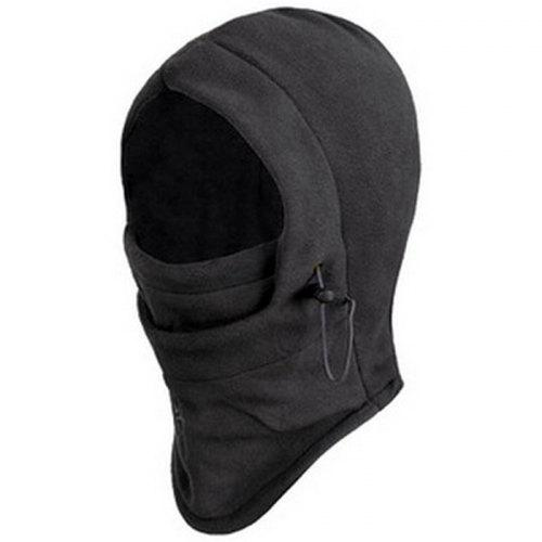 Bike Riding 6 in 1 Thermal Fleece Balaclava Outdoor Ski Masks Cyling Beanies Winter Protector Wind Stopper Face Hats