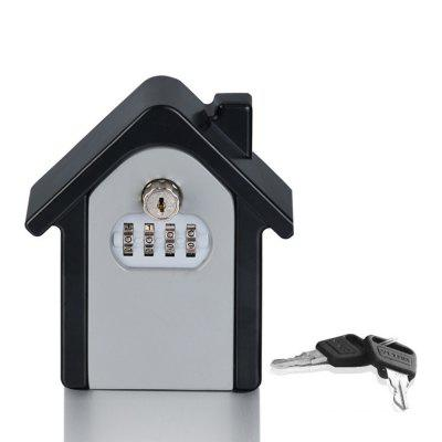 Wall-mounted Key Storage Box Password Lock Case