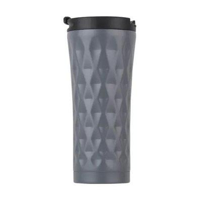500ml Double-layer Stainless Steel Car Coffee Mug Thermos Vacuum Cup