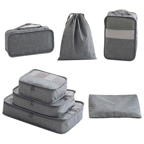 77973630976e 7pcs Luggage Packing Organizers Packing Cubes for Travel